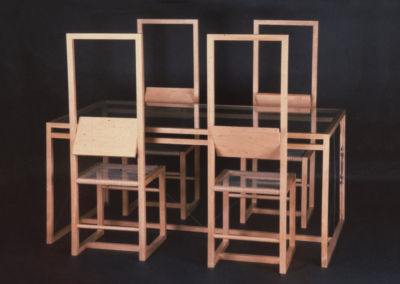 Set of Table and Chairs M1. 1972