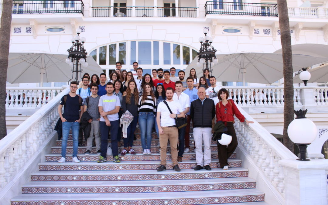 Visit to the Gran Hotel Miramar with the students of the eAM
