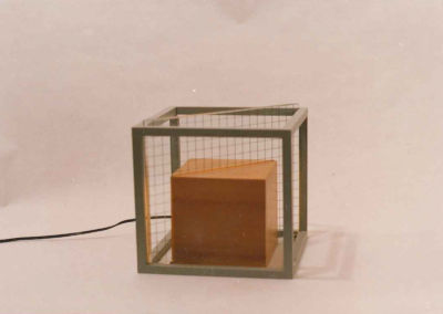 "Lamp ""Crystal Mesh"". 1985"