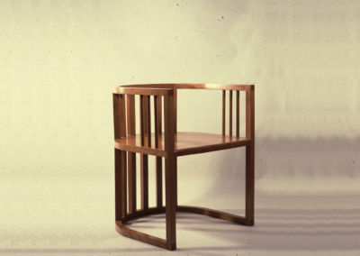 Curved Armchair. 1980