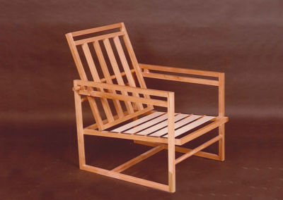 Armchair with Mobile Backrest. 1984