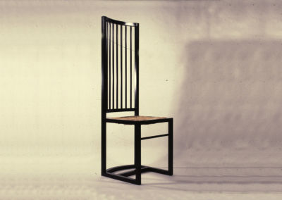Chair with Vertical Bars. 1981